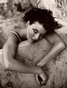 "90s - Linda Evangelista. Canadian model. Evangelista, whi has been featured on over 600 magazine covers, once famously uttered the quote, ""We don't wake up for less than 10,000 dollars a day"""