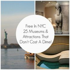 25 Free Things To Do In New York City -   I've been to NY before, but I'd like to go back