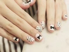 Super adorable nail art!