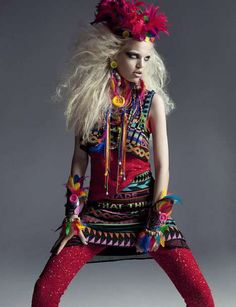Numero 124 Photos 1 - Trippy Tribal Editorials pictures, photos, images