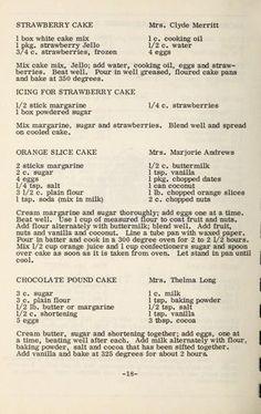 This looks like the same strawberry cake June made. Cookbook Ideas, Cookbook Display, Cookbook Storage, Cookbook Design, Cookbook Recipes, Baking Recipes, Cupcake Frosting, Cake Icing, Cupcake Cakes