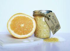Grapefruit Sugar Scrub Sugar Scrub Homemade Body by MzMayCreations