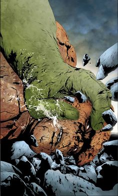 Hulk vs. The Thing - Jae Lee
