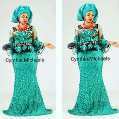 The green orchid dress modelled by @ultimateglam Pics by @editarnish #loveforgreen #peplumdress #lacepatches #biasskirt #fullsleeves #asoebibella #ms_asoebi #sugarweddings #weddinguest #naijaweddings #africansweetheartweddings