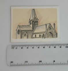 Original Artwork, Cathedral, My Etsy Shop, My Arts, The Originals, Architecture, Check, Artist, Cards