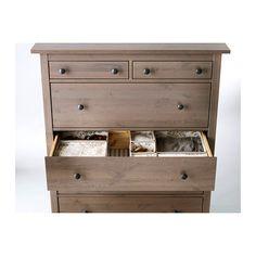 HEMNES Cómoda 6 cajones estafa IKEA Cajones espaciosos adicionales - Mas Espacio Para El Almacenamiento. Hijo Las cajas Que FACILES el abrir y Cerrar ...