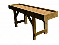 Potting Table- yes no more bending over!!!!