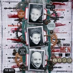 This layout was created by Renee Aslette.