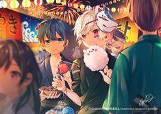 Anime Guys, Manga Anime, Anime Art, Vocaloid, Ashita No Nadja, The Wolf Game, Anime Drawing Styles, Anime Songs, Natsume Yuujinchou