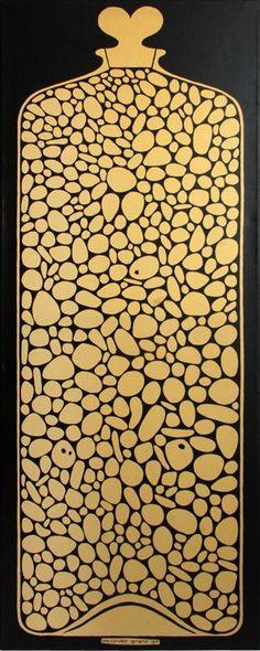 "Environmental Enrichment Panel Series ""Jar of Pebbles"", Alexander Girard for Herman Miller, 1971"