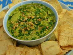 Sunny's Roasted Garlic and Frozen Veggie Dip recipe from Sunny Anderson via Food Network