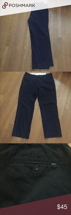 Ralph Lauren Polo Navy Blue chinos 38 x 30 Blue navy chinos. Like new. Polo By Ralph Lauren Pants Chinos & Khakis