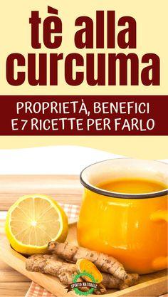 #curcuma #tè #spiritonaturale Pot Roast, Sweet Potato, The Cure, Food And Drink, Vegetables, Drinks, Healthy, Ethnic Recipes, Bella