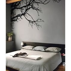 "Loving this wall art!!!! Stickerbrand Vinyl Wall Decal Sticker Tree Top Branches (M) 100"" W X 44"" H"