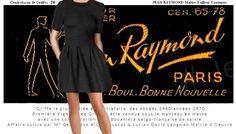 Institution parisienne de la mode JEAN RAYMOND, découvre jambe et genou des femmes photo 1962  Inventeur Mini Jupe et Mini Robe Lucien David LANGMAN AH 1959 1960 Maître Tailleur Maître Artisan d'Art #jeanraymond #frereslangman #lucienlangman #annees60