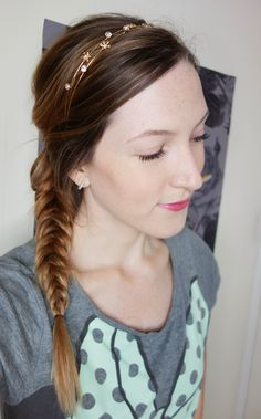 This super shiny and smooth fishtail braid was achieved with the help of Suave Biotin Infusion shampoo & conditioner! AD #SuaveBeliever | oliveandivyblog.com