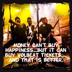 And that's the honest truth. Great Bands, Cool Bands, Volbeat, Money Cant Buy Happiness, Film Music Books, Most Beautiful Man, Paul Mccartney, My Happy Place, Embedded Image Permalink