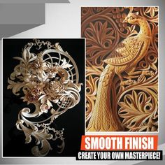Diy Wood Projects, Wood Crafts, Widder Tattoo, Photographie Art Corps, Dremel Wood Carving, Drilling Tools, Estilo Hippie, Cool Gadgets To Buy, High Speed Steel