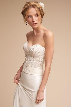 f6f89901a8 Maryna Corset Top - Quite the change from the norm. Every bride wants her  own look