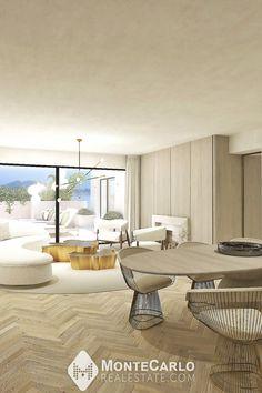Luxueux 3 pièces avec projet de rénovation Monte Carlo, Location, Monaco, Real Estate, Table, Furniture, Home Decor, Apartment Chic, Princess