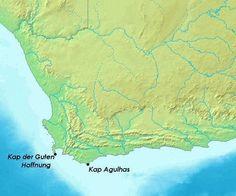In 1488 ontdekte Bartholomeus Diaz Kaap de Goede Hoop.