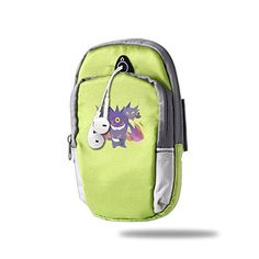 Mega Gengar Evolution Outdoor Sports Armband Arm Package Bag Cell Phone Bag Key Holder For Iphone 66s77p One Size KellyGreen * Details can be found by clicking on the image.