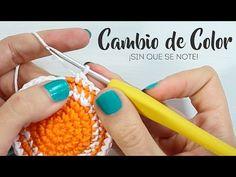 How to avoid your crochet work or amigurumi from leaning Amigurumi Tutorial, Amigurumi Patterns, Crochet Patterns, Crochet World, Crochet Yarn, Change Colors In Crochet, Crochet Symbols, Basic Crochet Stitches, Crochet Videos