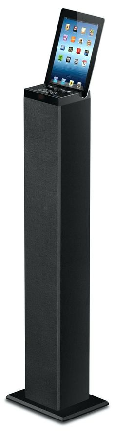 Muse Enceinte colonne muse noir BLUETOOTH +  radio +  usb + jack 3.5mm