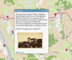 Opengeodata on #Arcgis Online : historic postcards from France / Saône et Loire - Opendata by OpenData71 - Conseil Général de Saône et Loire - CLICK ME !