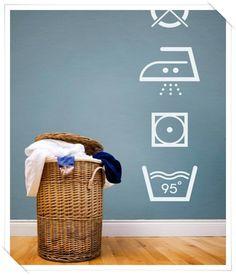 stickers per lavanderia - stickers for laundry
