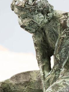 Lolo - escultura en bronce - bronze sculpture