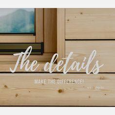 Holzbau - Lärche - Aussengestaltung Detail, How To Make, Home Decor, Decoration Home, Room Decor, Interior Decorating