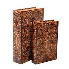 Conjunto de Livros Decorativos Dickens