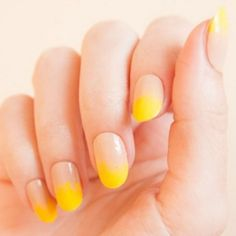 3 Summer Nail Ideas From Instagram We're Obsessed With Right Now! Loving this yellow!