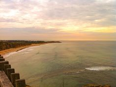 Morning light over Jan Juc #beach #ocean #oceanlove #sunrise #surf #surfing #surfcoast #janjuc #sky #clouds #greatoceanroad #beautiful #water #waves #explore #australia by addyblackphotos http://ift.tt/1X8VXis