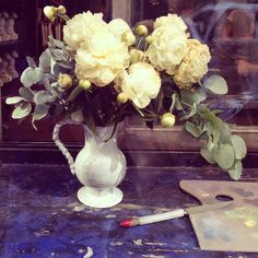 I love checking out Astier de Villatte when I walk down rue SaintHonoré. The photo above is one I took of their beautiful flower arrangements. I've always wondered who was behind the products. Vogue just posted a short firm about the company and it's mysterious foundersIvan PericoliandBenoît Astier de Villatte that is definitely worth checking […]