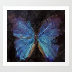 Butterfly Effect Art Print by Sara Dowling | Society6