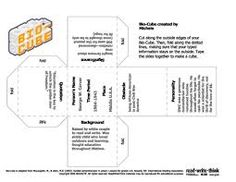 Image result for story cubes template Cube Template, Templates, Story Cubes, Image, Stencils, Vorlage, Models