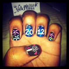 Measuring the Year in Nail Art http://blog.birchbox.com/post/38383224912/measuring-the-year-in-nail-art-instagram