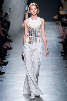 I love this Bottega Veneta, Spring 2015, dress from Milan fashion week