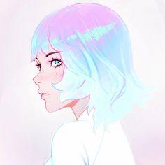 Kuvshinov Ilya is creating Illustrations and Comics Art Anime Fille, Anime Art Girl, Art Et Illustration, Illustrations, Pretty Art, Cute Art, Kuvshinov Ilya, Bel Art, Character Art