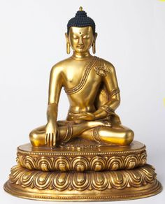 Shakyamuni Buddha -  gold