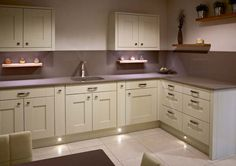 #sensio lighting to create a modern finish to any kitchen