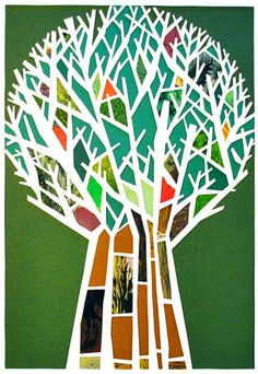 """""""Incredible Tree of Knowledge of Good and Evil""""   (Credit: http://www.nicejewishartist.com/isaacB2_gallery.html)"""