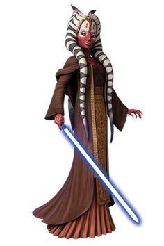 Shaak Ti was a female Togruta Jedi Master, hailing from the planet Shili, serving the Galactic Republic as a member of the Jedi Order in the final decades of the Republic Classic era. Joining the Jedi High Council in the years before the Clone Wars, she took up the ranks of General within the Grand Army of the Republic and was tasked with the oversight of clone trooper training on the ocean world Kamino.