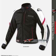 [Star Field Knight ]Komine top high quality titanium alloy automobile race ride clothing motorcycle jacket JK-036  for 3 colors $286.00