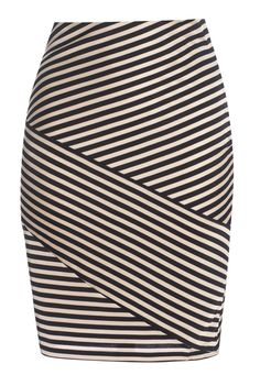 Reiss striped bodycon skirt #McArthurGlenStyle Body Con Skirt, Reiss, All About Fashion, Sewing Crafts, Skirts, Clothing, Style, Outfits, Skirt