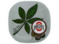 Buy Melamine Buckeye Plate Kitchen & Bar Novelties and other Ohio State Buckeyes products at OhioStateBuckeyes.com
