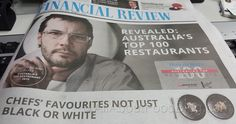 2015 Top 100 Restaurants in Australia by Financial Review The 100, Restaurants, Awards, Australia, Top, Restaurant, Diners