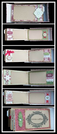 TERESA COLLINS DESIGN TEAM: Christmas Memories in a BOX! By:Sesil Cratin